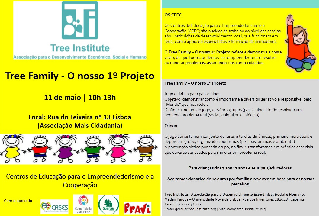tree family flyer