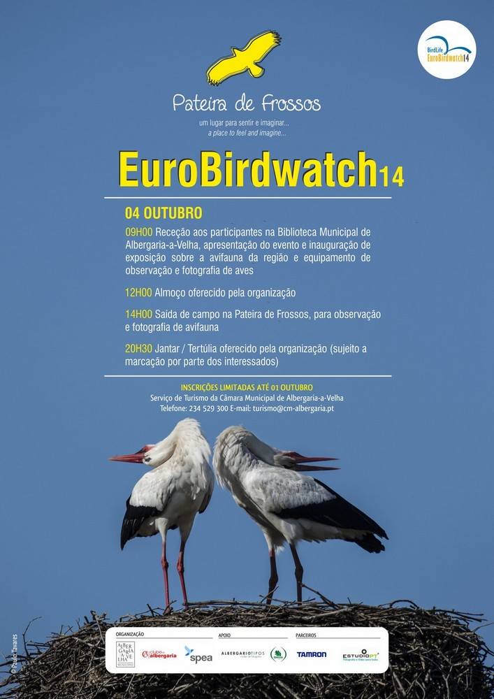 Cartaz Eurobirdwatching14 Frossos