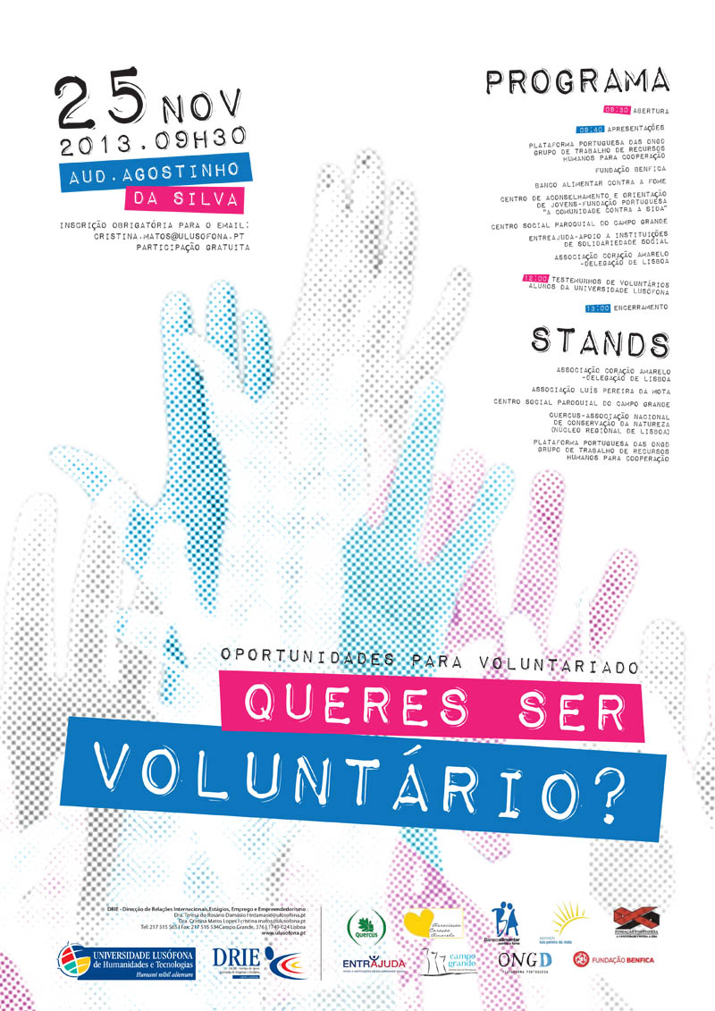 queres ser voluntario final