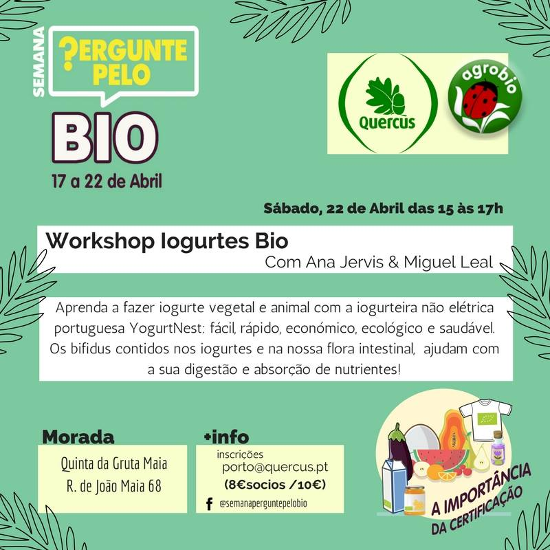 Workshop Iogurtes Bio